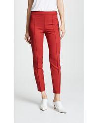 Boutique Moschino - Straight Leg Pants - Lyst