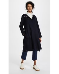 Edition10 - Hooded Pea Coat - Lyst