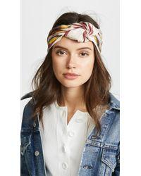 Jennifer Behr - Marin Turban Headband - Lyst