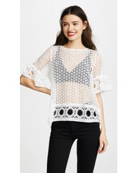 English Factory - Lace Blouse - Lyst