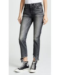 Tortoise - Dory High Rise Tapered Crop Jeans - Lyst