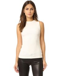 Getting Back to Square One - Ribbed Muscle Tee - Lyst