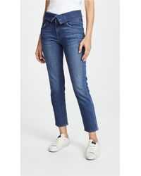 James Jeans - Folie Fold Over Jeans - Lyst