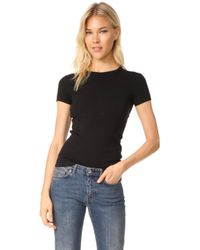 Three Dots - Kennedy Short Sleeve Crew Neck Tee - Lyst