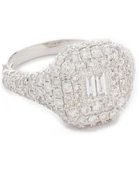 SHAY - Pave Essential Diamond Pinky Ring - Lyst
