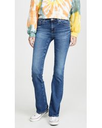 AG Jeans The Angel Bootcut Jeans - Blue