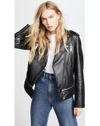 Jason Wu - Leather Jacket - Lyst