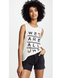 Spiritual Gangster - All One Muscle Tank - Lyst
