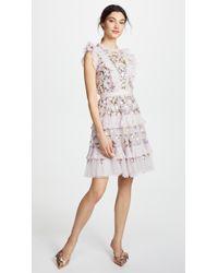 Needle & Thread - Prism Ditsy Mini Dress - Lyst
