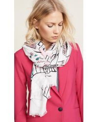 Kate Spade - New Orleans House Scarf - Lyst