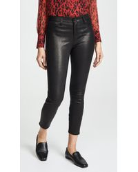 L'Agence Adelaide Leather Skinny Pants