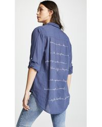 Sundry - Oversized Buttondown Shirt - Lyst
