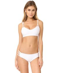 Mikoh Swimwear - Madrid String Bikini Top - Lyst