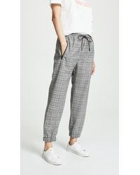 MILLY - Jogger Trousers - Lyst