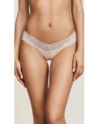 Hanky Panky - Cotton With A Conscience Low Rise Thong - Lyst