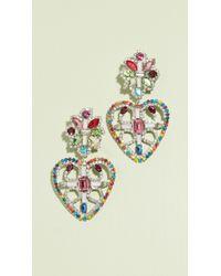 DANNIJO - Camellias Earrings - Lyst