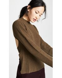 Edition10 - Open Back Sweater - Lyst