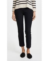 Vince - Stitch Front Seam Legging Trousers - Lyst