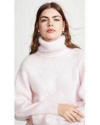 Nina Ricci - Mohair Turtleneck Sweater - Lyst