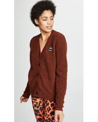 Markus Lupfer - Polly Brushed Wool Cardigan - Lyst