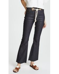 Miaou - Morgan Flare Jeans - Lyst
