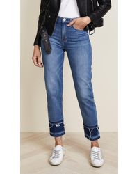 Hudson | Zoeey High Rise Crop Jeans | Lyst