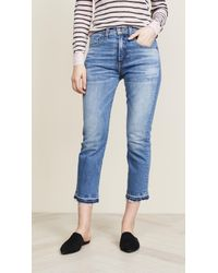 Veronica Beard - Ines Girlfriend Jeans - Lyst
