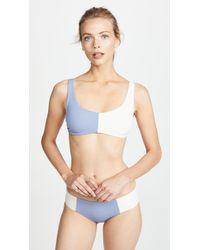 Tori Praver Swimwear - Deja Bralette Bikini Top - Lyst