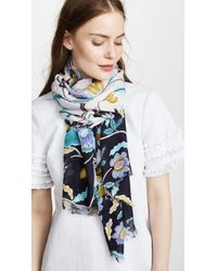 Rebecca Minkoff - Floral Oblong Scarf - Lyst