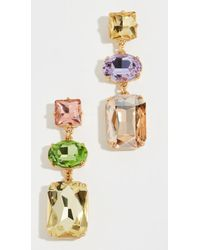BaubleBar - 3 Drop Earrings - Lyst