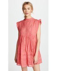 Free People - Nobody Like You Embellished Mini Dress - Lyst
