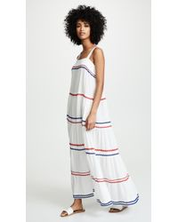 78706a0f5a743 9seed Sayulita Tier Maxi Dress in White - Lyst