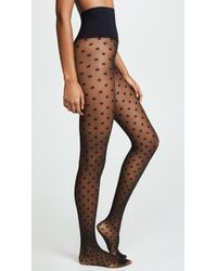 Commando - Polka Dot Sheer Tights - Lyst