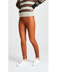 Jason Wu - Stretch-leather Skinny Trousers - Lyst