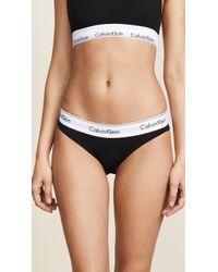 Calvin Klein - Modern Cotton Bikini Briefs - Lyst