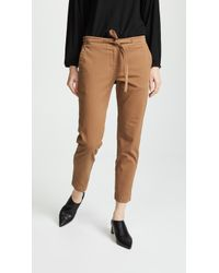 Robert Rodriguez - Drawstring Cropped Trousers - Lyst