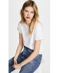 RE/DONE - Classic Tee - Lyst