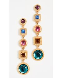 Ben-Amun - Multi Stone Earrings - Lyst