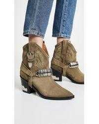 Toga Pulla - Harness Cowboy Boots - Lyst