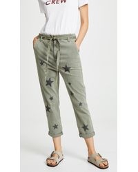 Sundry - L'automne Pant In Olive - Lyst