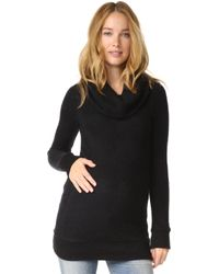 Ingrid & Isabel - Cowl Neck Maternity Sweater - Lyst