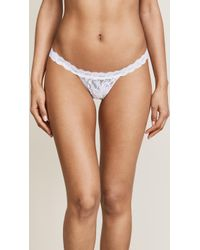 Hanky Panky - Signature Lace G-string - Lyst