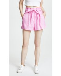 MILLY - Kori Shorts - Lyst