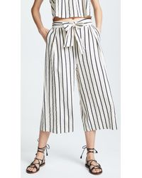 Suboo - Wide Leg Tie Pant-stay - Lyst