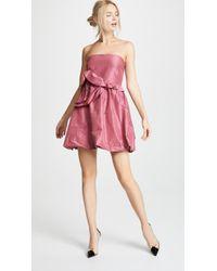 Cynthia Rowley - Babydoll Mini Dress - Lyst
