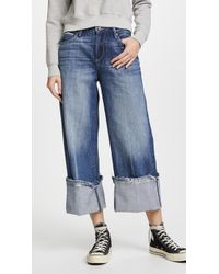 Tortoise - Canni Slouchy Crop Wideleg Jeans - Lyst