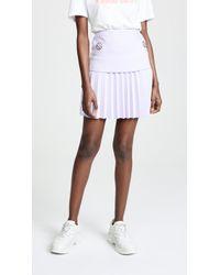 Dion Lee - Pleated Mini Skirt - Lyst