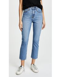 Nobody Denim - The Charlotte Tailored Straight Leg Jeans - Lyst