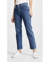 3x1 Rose Carpenter Jeans - Blue
