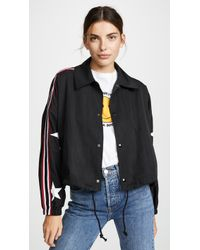 Pam & Gela - Star Drawstring Jacket - Lyst
